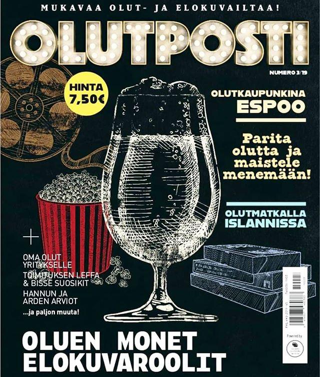 OlutPosti -lehden numero 3/2019 kansi